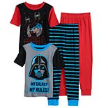 Boys 6-12 Star War My Galaxy Tops & Bottoms Pajama Set