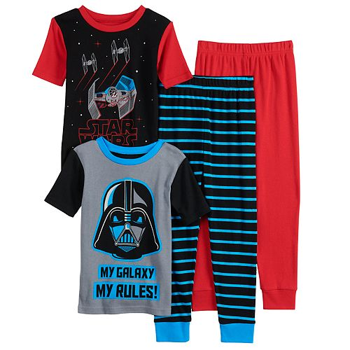 Boys 6-12 Star War My Galaxy Tops & Bottoms Pajama Set