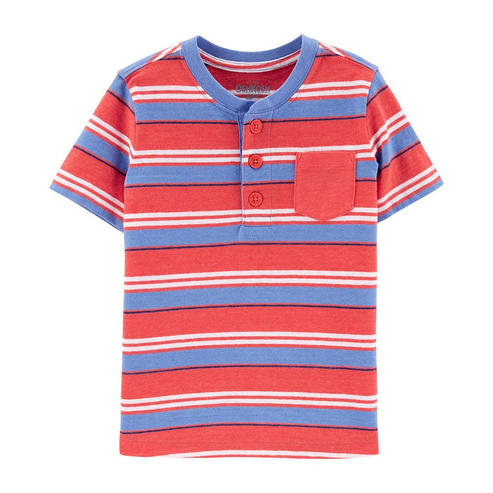 Toddler Boy OshKosh B'gosh® Striped Pocket Tee