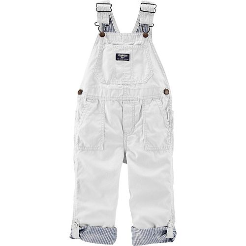 Toddler Boy OshKosh B'gosh® Canvas Bib Overalls