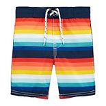 Toddler Boys OshKosh B'gosh® Striped Swim Trunks