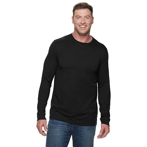 Big & Tall Croft & Barrow® Extra Soft Jersey Crewneck Tee