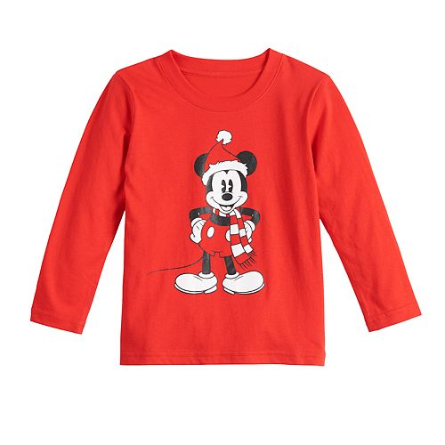 Disney's Mickey Mouse Toddler Boy Christmas Graphic Tee by Family Fun™