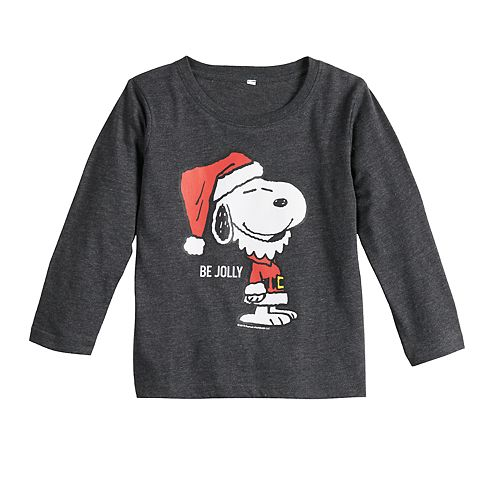 Toddler Boy Family Fun™ Peanuts Snoopy Christmas Graphic Tee