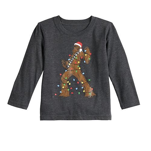 Toddler Boy Family Fun™ Star Wars Chewbacca Christmas Graphic Tee
