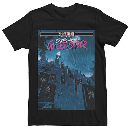 Men's Marvel's Spider-Gwen Ghost-Spider #4 Comic Cover Tee