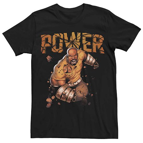 Men's Marvel's Luke Cage Power Shattered Poster Tee