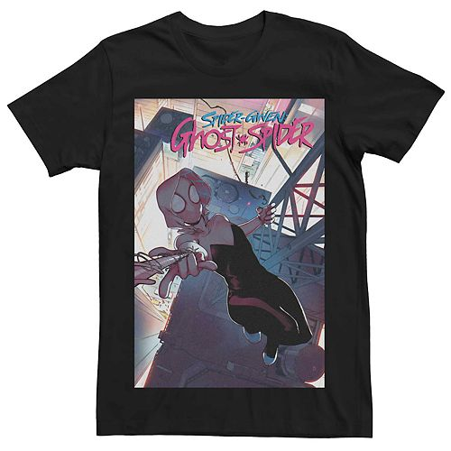 Men's Marvel's Spider-Gwen Ghost-Spider #5 Comic Cover Tee