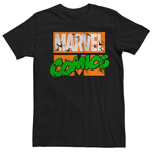Men's Marvel's Comics Halloween Logo Tee