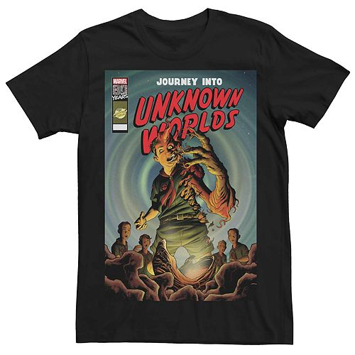 Men's Marvel's Journey Into Unknown Worlds (2019) #1 Comic Cover Tee