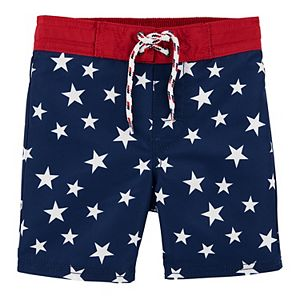 Toddler Boy OshKosh B'gosh® Stars Swim Trunks