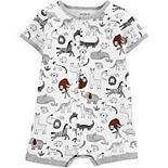 Baby Boy Carter's Animal Snap-Up Romper