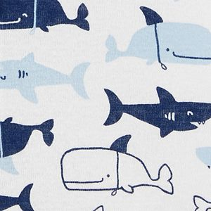 Baby Boy Carter's Whale Snap-Up Romper