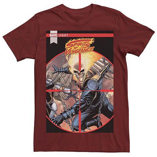 Men's Marvel's Spirits Of Vengeance #5 Comic Cover Tee