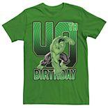 Men's Marvel's Hulk 40th Birthday Tee