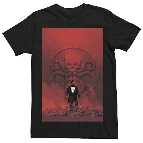 Men's Marvel's The Punisher Hydra Comic Cover Tee