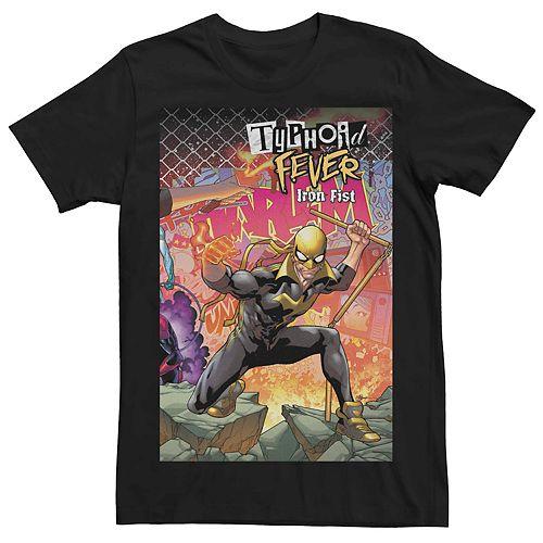 Men's Marvel's Typhoid Fever Iron Fist (2018) #1 Cover Tee