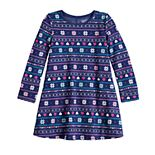 Girls 4-12 Jumping Beans® Fleece Swing Dress
