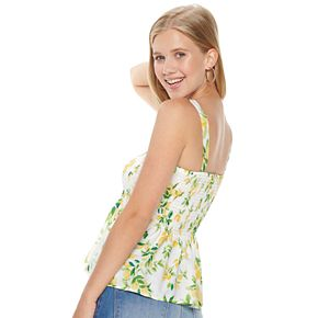 Juniors Liberty Love Woven Tank