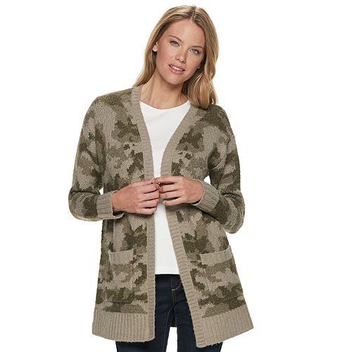 Women's SONOMA Goods for Life® Drop Shoulder Cardigan