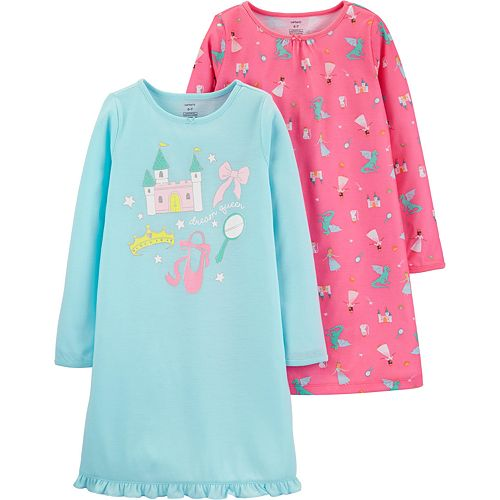 Girls 4-14 Carter's 2-Pack Nightgowns
