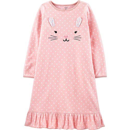 Girls 4-14 Carter's Kitty Fleece Nightgown