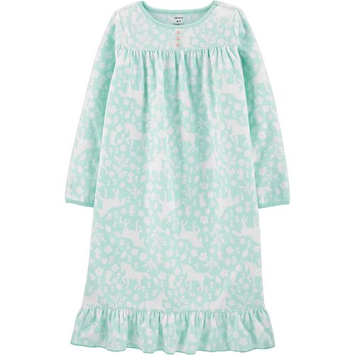 Girls 4-14 Carter's Unicorn Fleece Nightgown