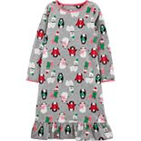 Girls 4-14 Carter's Winter Fleece Nightgown