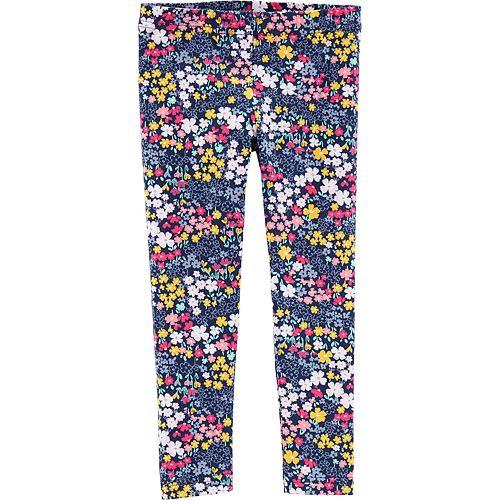 Toddler Girl Carter's Floral Leggings