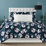 Christian Siriano Mags Floral Duvet Cover Set