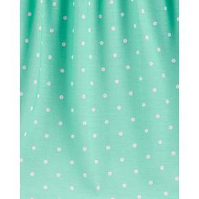 Girls 4-14 Carter's Floral Fleece PJs