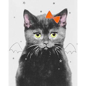 Girls 4-14 Carter's Halloween Tutu Cat Snug Fit Cotton PJs