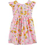 Toddler Girl Carter's Floral Bow Dress