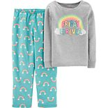 Girl's 4-14 Carter's 2-Piece Cotton & Poly Pajama Set