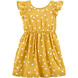 Toddler Girl Carter's Polka Dot Bow Dress