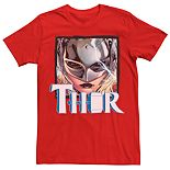 Men's Marvel Thor Jane Foster Serious Face Tee