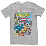 Men's Marvel Spider-Man Hammerhead Comic Book Cover Tee