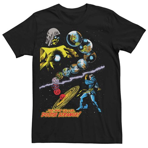 Men's Marvel The Man Called Doctor Strange Universe Battle Tee
