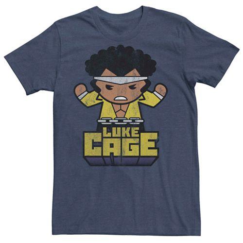 Men's Marvel Luke Cage Cute Kawaii Tee