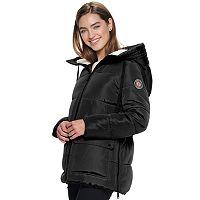 Madden NYC Nylon Sleeping Bag Puffer Jacket Deals
