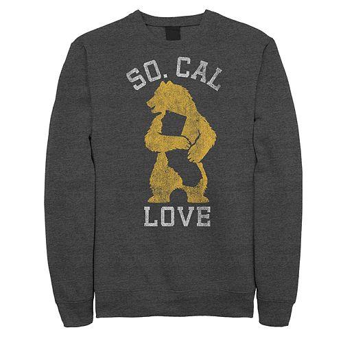 "Juniors' ""So. Cal Love"" California State Bear Fleece Graphic Top"