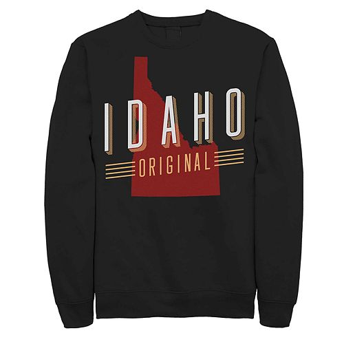 "Juniors' ""Idaho Original"" Fleece Graphic Top"