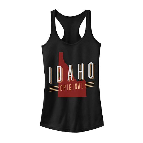 "Juniors' ""Idaho Original"" Graphic Tank"