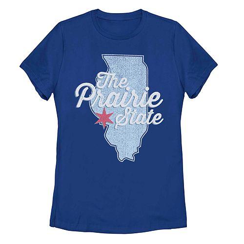 "Juniors' Illinois ""The Prairie State"" Graphic Tee"