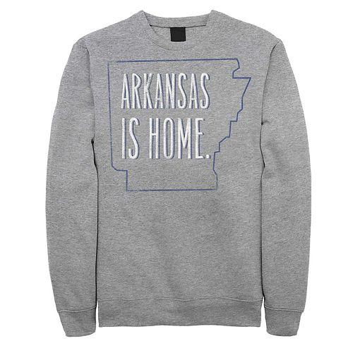 """Juniors' """"Arkansas Is Home"""" Fleece Graphic Top"""