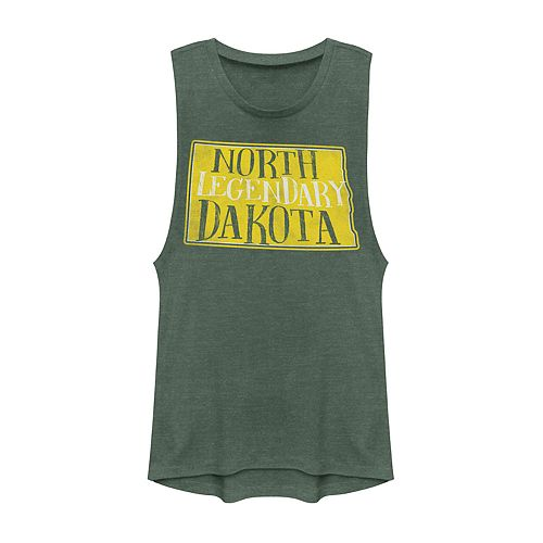 "Juniors' North Dakota ""Legendary"" Graphic Muscle Tank"
