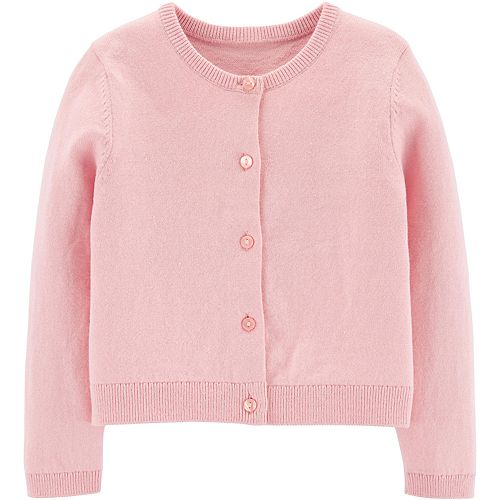 Toddler Girl Carter's Solid Cardigan