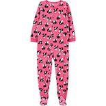 Girls 4-14 Carter's 1-Piece Fleece Footie PJs