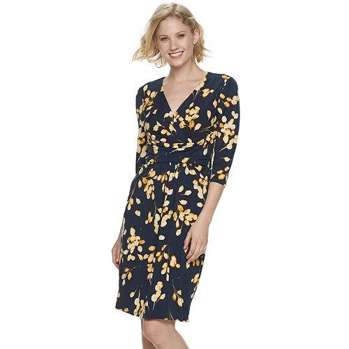 Petite Suite 7 Matte Jersey Midi Dress