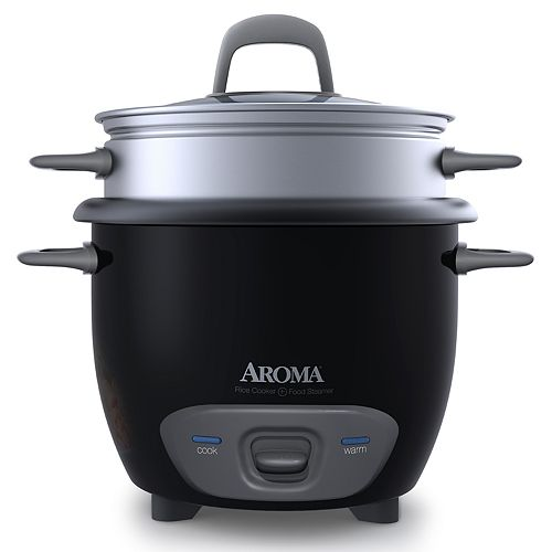 Aroma 6-Cup Pot Style Rice Cooker